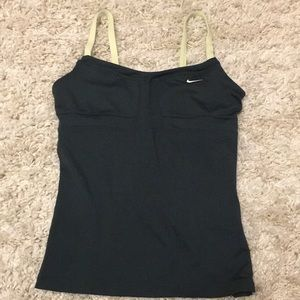 Nike workout/swim top